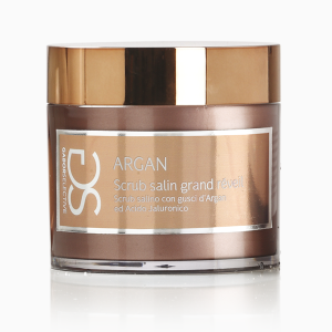 SCRUB SALIN GRAND RÉVEIL - Scrub salino con gusci d'Argan e acido ialuronico