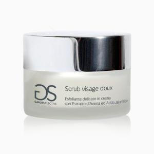 SCRUB VISAGE DOUX - Esfoliante delicato in crema con Estratto d'Avena e acido ialuronico