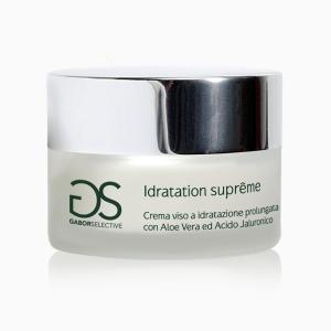 IDRATATION SUPRÊME - Crema viso a idratazione prolungata con Aloe Vera e acido ialuronico